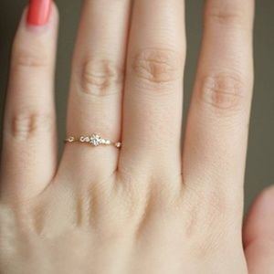 Jewelry - - Eternity Thin Band Cubic Zirconia Ring NWOT
